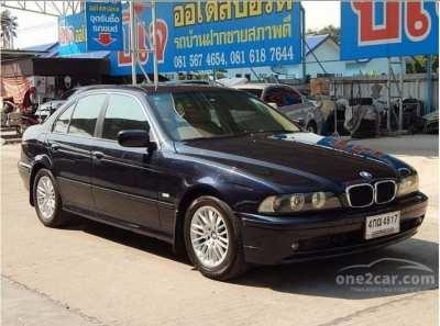 ขายรถ BMW ปี 2002 523i E39 (ปี 95-04) 2.4 Sedan สีน้ำเงิน กรุงเทพ