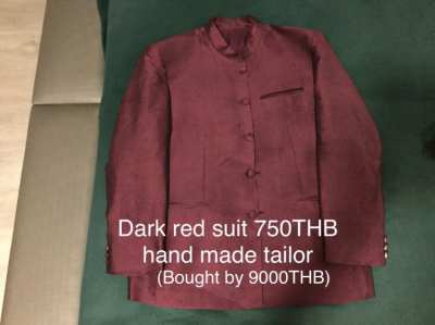 6 pieces menswear and 2 Thai silk suits (price reduced)