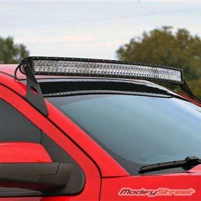 "Led light bar 42""  with mounting brackets"