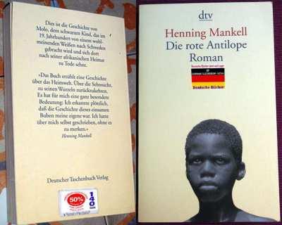 Die rote Antilope: Roman (Deutsch) Taschenbuch – von Henning Mankell