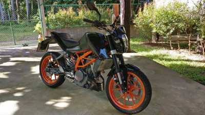 2016, KTM, Duke 390 without factory stickers