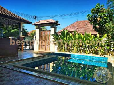Pool Villa in Bangsaray near the Sea