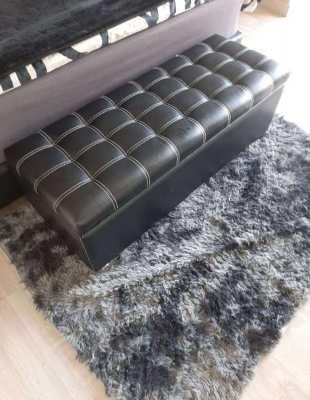 Custom Black Chest with Carpet