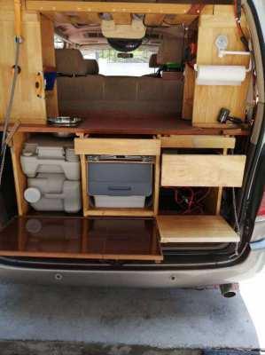 Toyota camper van