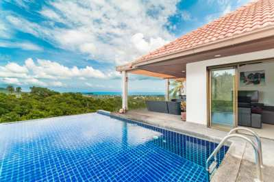 Chaweng: Discounted Seaview Pool Villa For Rent