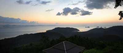 Top sea view land in Taling Nam Samui