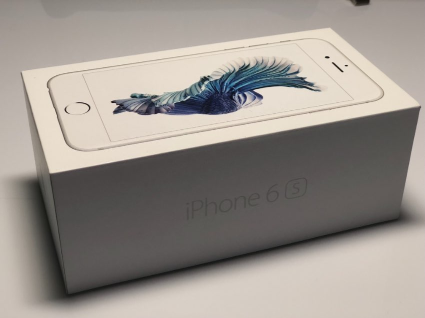 IPhone 6s 128 GB Silver