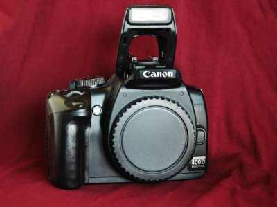 Canon EOS 400D DSLR Camera Black body
