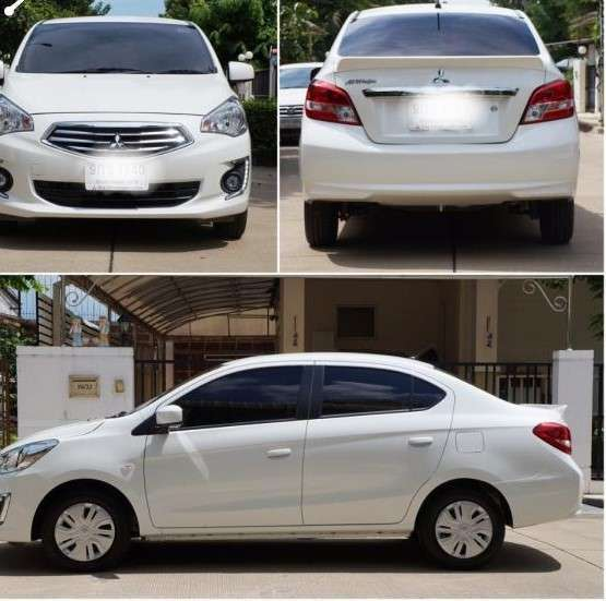 2019 Mitsubishi Attrage GLX auto car for rent in Hua Hin