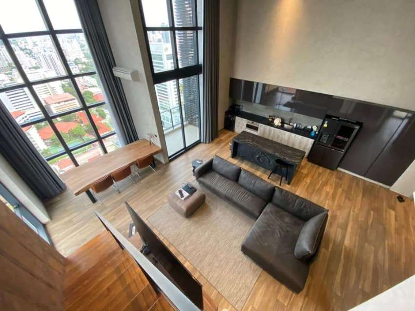 Condo for RENT - The Lofts Asoke, 3BR DPX (145sqm), at 130K