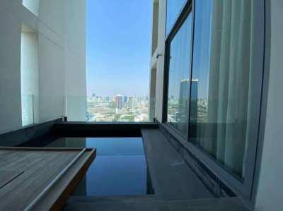 SALE - The Sukhothai Residences, 320sqm (4BR+5Bath+1maid) private pool
