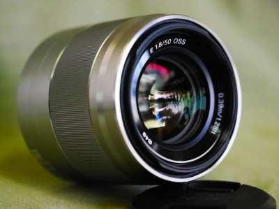 SONY E 50mm F1.8 SEL50F18 Prime AF Lens