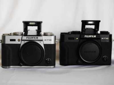 Fuji Fujifilm X-T10 Black / Silver Body, XT-10, XT10