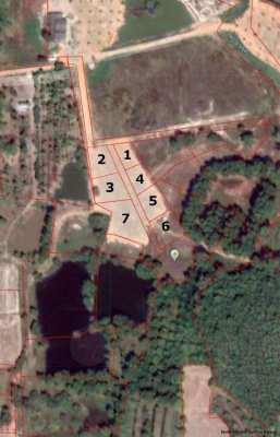 Land plot 70 sqw (280 sqm) close to Suan Son beach. Price 430,000 THB