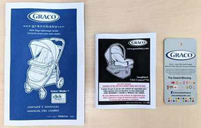 Baby Stroller - 10 functions - GRACO ClickConnect 35 Mode 3in1