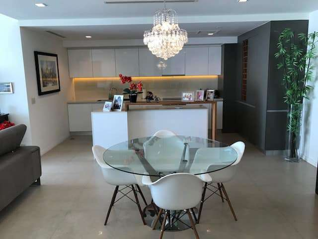 BKK Condo for RENT - The River, North view, 2+1(134sqm), at 25.7MB