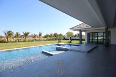 Brand New Luxury 3 Bedroom Pool Villa On Large Land Plot.