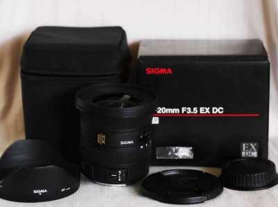 Sigma 10-20mm f/3.5 Super Wide Angle Lens for Canon Cameras