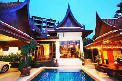 Traditional Style Pool Villa Kamala-Phuket for sale