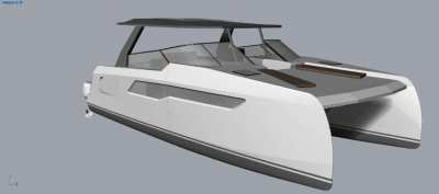 Sea Searcher 36 - New designfeaturing high performance/low fuel cost
