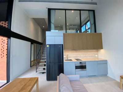 RENT - The Lofts Silom, 2BR Loft (54+14sqm), at 59K