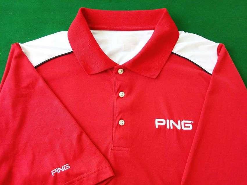 Quality Men's Ping golf shirt