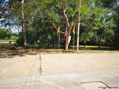 2 land plots for sale next to a tempel and close Mae Ramphueng beach!
