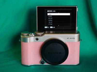 Fuji Fujifilm X-A10 Pink Body in Box, XA10, XA-10