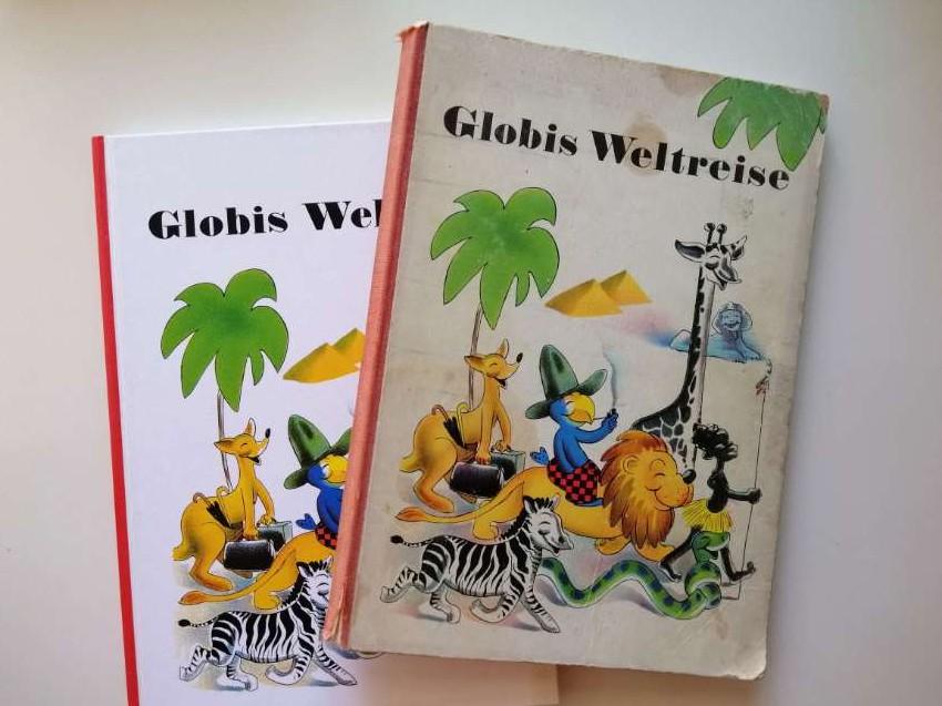 Globis Weltreise Schweizer Klassiker Swiss book unzensierte Version