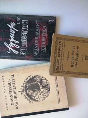 Rare Hypnosis Books German Language Hypnose Buecher antiquarisch