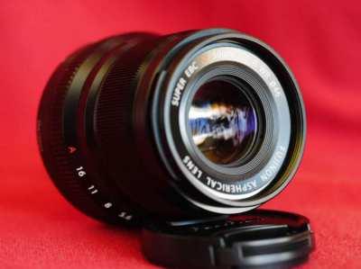 FUJIFILM Fuji Fujinon XF 50mm F/2 R WR Black Prime Lens