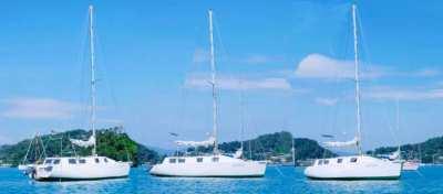 37 ft _ Sailing boat _
