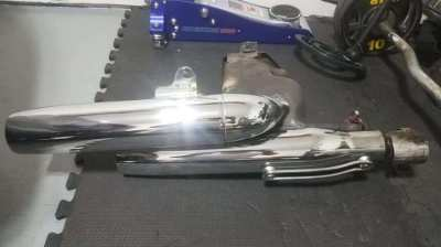 Exhaust System for Yamaha Virago 1100 cc