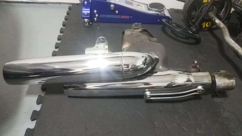 Exhaust System for Yamaha Virago 1100 cc