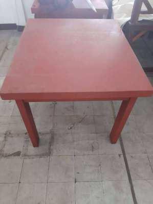 Wooden table Length: 107 x D90 x H81