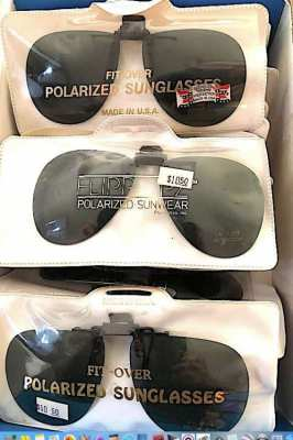 Polarized Fit-over Sunglasses.