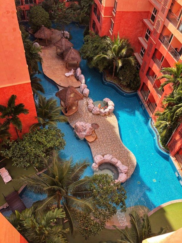 Cheap Re-Sale 1 Bedroom, Pool View, Seven Seas Condo, Pattaya