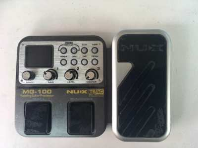 Guitar Multi Effects Pedal Nux MG-100