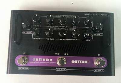 75 Watt floor pedal amp HoTone BritWind
