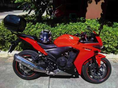 Honda CBR500R 2013 - trade up or down