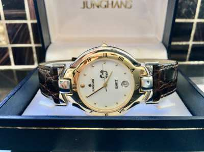 Junghans Vintage Classic Retro Design Accessory Made in Germany Quartz