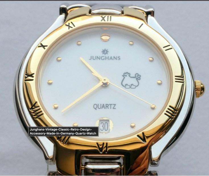Junghans Vintage Classic Retro Design Accessory Made in Germany Quartz