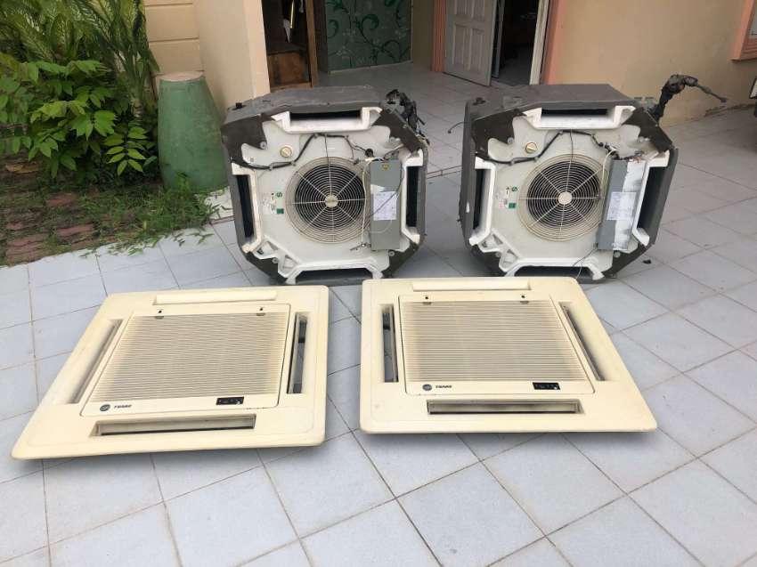 Air Conditioning 2 x Trane Split type Ceiling Caset
