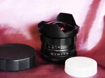 7.5mm f/2.8 Fisheye Lens for Fujifilm Fuji X Mount Cameras