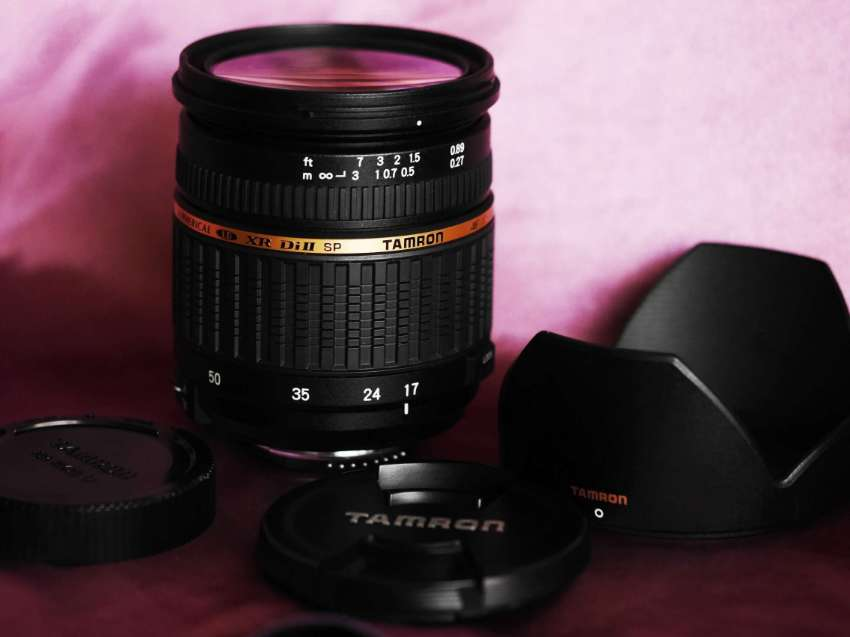 TAMRON SP AF 17-50mm F/2.8 XR Di II LD for Nikon, Built-in Motor