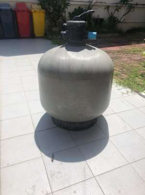 Thermoplastic Sand Filter with Valve
