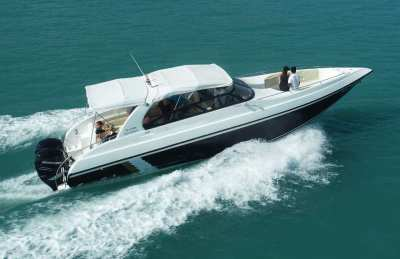 38ft Speedboat For Sale With 2 x 300HP Mercury Verados