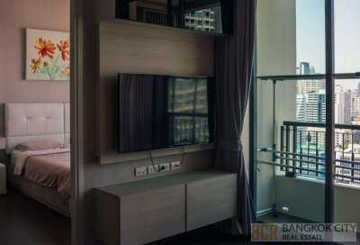Q Asoke Ultra Luxury Condo High Floor 1 Bedroom Unit for Rent