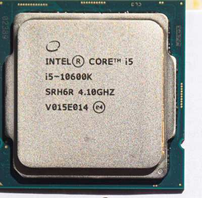 Intel 10600 K CPU Overclock for 400 series motherboards