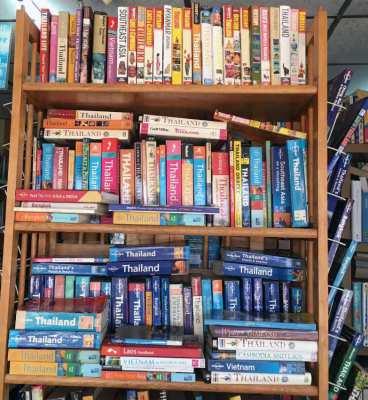 English books - used - Pattaya book exchange.